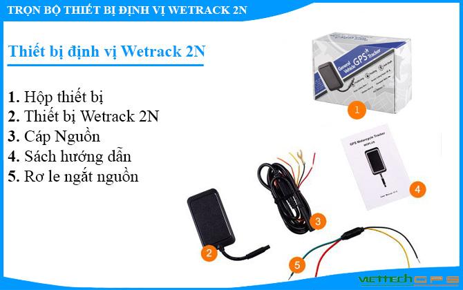 thiết bị định vị ô tô wetrack 2n