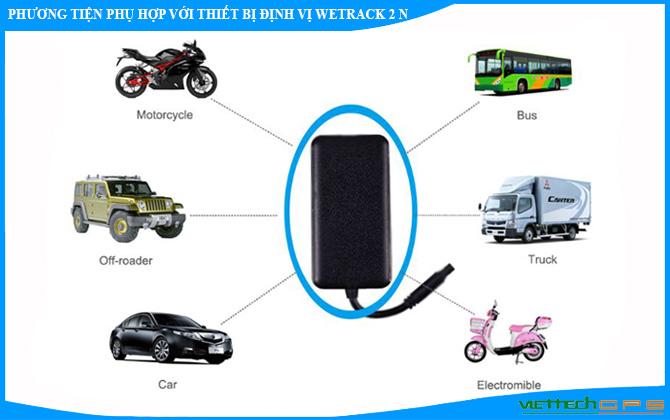 Những phương tiện có thể sử dụng thiết bị định vị