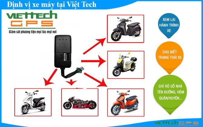 giám sát hành trình cho xe máy